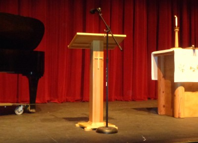 Weed Lectern